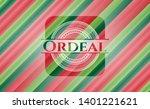 ordeal christmas emblem...   Shutterstock .eps vector #1401221621