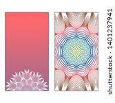 creative invitation card... | Shutterstock .eps vector #1401237941