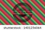 antiquarian christmas badge...   Shutterstock .eps vector #1401256064