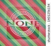 none christmas style emblem....   Shutterstock .eps vector #1401256154