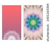 creative invitation card... | Shutterstock .eps vector #1401265304