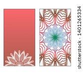 creative invitation card... | Shutterstock .eps vector #1401265334