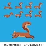 Squirrel Walking Motion...