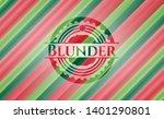 blunder christmas emblem...   Shutterstock .eps vector #1401290801