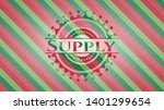 supply christmas colors style...   Shutterstock .eps vector #1401299654