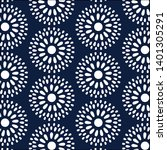 bright  seamless pattern with... | Shutterstock .eps vector #1401305291