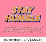 retro font effect for sticker... | Shutterstock .eps vector #1401320264