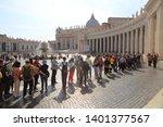 Vatican  rome  italy   april 18 ...