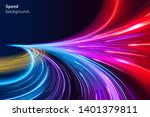 abstract colorful speed... | Shutterstock . vector #1401379811
