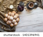 ramadan sweets background.... | Shutterstock . vector #1401396941