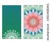 creative invitation card... | Shutterstock .eps vector #1401408341