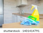 cleaning concept. tool for... | Shutterstock . vector #1401414791