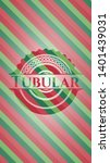 tubular christmas style emblem. ...   Shutterstock .eps vector #1401439031