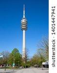 munich   germany april 20  2019 ... | Shutterstock . vector #1401447941