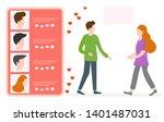 vector illustration with online ... | Shutterstock .eps vector #1401487031
