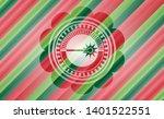 laser icon inside christmas...   Shutterstock .eps vector #1401522551