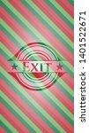 exit christmas emblem...   Shutterstock .eps vector #1401522671