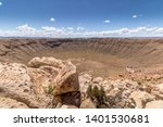 Meteor Crater In The Northern...