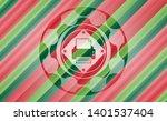 printer icon inside christmas...   Shutterstock .eps vector #1401537404