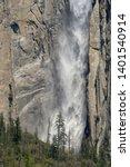 Bridal Veil Falls In Yosemite...