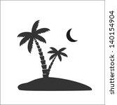 palm tree   Shutterstock .eps vector #140154904