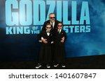 los angeles   may 18   miguel...   Shutterstock . vector #1401607847