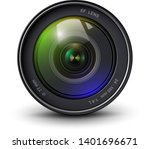 camera photo lens 3d realistic... | Shutterstock .eps vector #1401696671