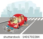 vector illustration of a...   Shutterstock .eps vector #1401702284