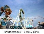 amusement park | Shutterstock . vector #140171341