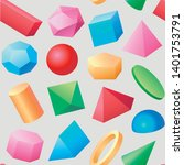 seamless texture. basic vector... | Shutterstock .eps vector #1401753791