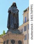Bronze Statue Of Giordano Bruno ...