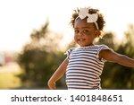 happy african american little...   Shutterstock . vector #1401848651