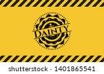dainty grunge warning sign...   Shutterstock .eps vector #1401865541
