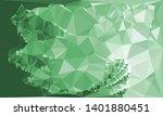 horizontal mosaic banner. low... | Shutterstock .eps vector #1401880451