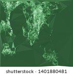horizontal mosaic banner. low... | Shutterstock .eps vector #1401880481
