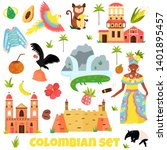 set of colorful symbols ...   Shutterstock .eps vector #1401895457