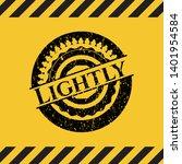 lightly grunge warning sign...   Shutterstock .eps vector #1401954584