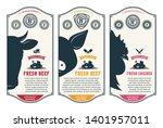 Vector Butcher\'s Shop Logo....