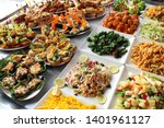 tapas and pinchos   spanish... | Shutterstock . vector #1401961127