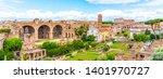 roman forum  latin forum...   Shutterstock . vector #1401970727