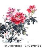 Peony Flower Traditional...