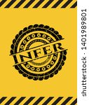 infer  black grunge emblem...   Shutterstock .eps vector #1401989801
