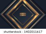 golden metallic abstract...   Shutterstock .eps vector #1402011617