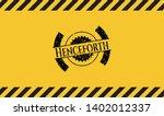 henceforth black grunge emblem  ...   Shutterstock .eps vector #1402012337