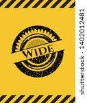 wide inside warning sign  black ...   Shutterstock .eps vector #1402012481