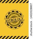 astrology grunge warning sign...   Shutterstock .eps vector #1402028807