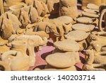 Handicrafts Near The Inca's...