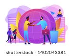 human resources agency for... | Shutterstock .eps vector #1402043381
