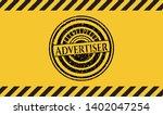 advertiser grunge warning sign...   Shutterstock .eps vector #1402047254