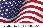 america flag background... | Shutterstock .eps vector #1402080554